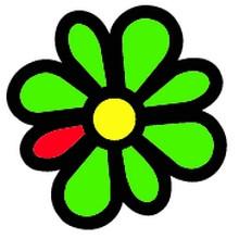 ICQ (I seek you) (โปรแกรมแชท ICQ ตรา ดอกไม้เขียว) :