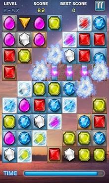 App เกมส์เพชร JewelsStar