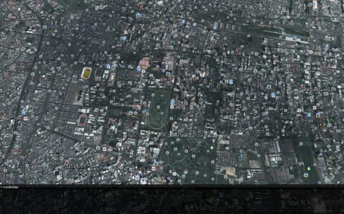 โปรแกรมแผนที่ Google Earth