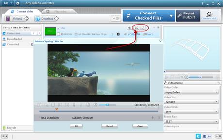 โปรแกรมแปลงไฟล์ Any Video Converter