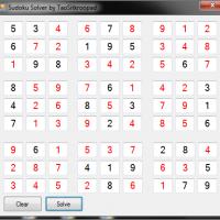 Sudoku Solver (เกมซูโดกุ เกมปริศนาตัวเลข)