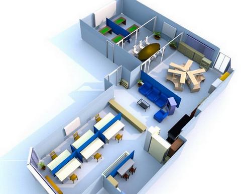 โปรแกรมออกแบบออฟฟิศ Sweet Home 3D