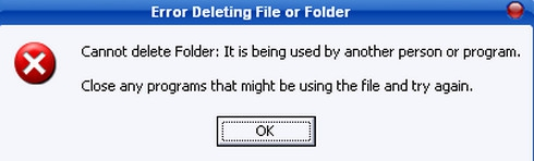 โปรแกรมช่วยลบไฟล์ที่ลบไม่ได้ Unlocker