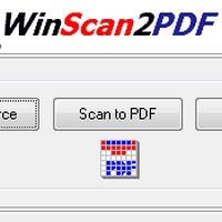 WinScan2PDF (โปรแกรม WinScan2PDF แปลงไฟล์ PDF พกพา) :