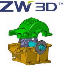 ZW3D (โปรแกรม ZW3D ออกแบบ 3 มิติ ออกแบบเครื่องจักร ออกแบบแม่พิมพ์) :