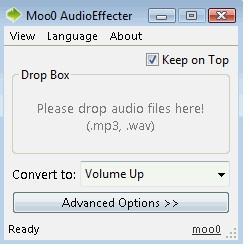 Moo0 Audio Effect (โปรแกรม Moo0 Audio Effect แต่งเสียงง่ายๆ แจกฟรี)
