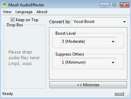 โปรแกรมแต่งเสียง Audio Effect