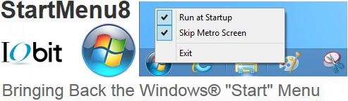 โปรแกรมเพิ่ม Start Menu 8
