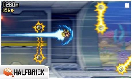 เกม Jetpack Joyride ขี่เครื่องเจ็ท