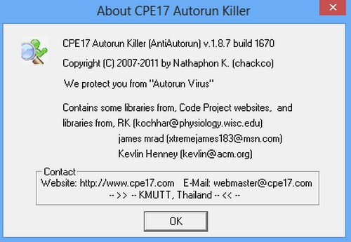 CPE17 Autorun Killer