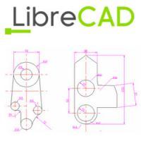 LibreCAD (โปรแกรมออกแบบ โปรแกรมวาดแบบ 2 มิติ)