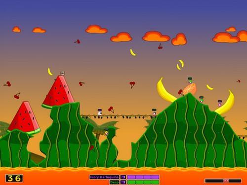 เกมส์หนอน Hedgewars
