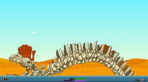Hedgewars (เกมส์ Hedgewars หนอนหรรษา) :