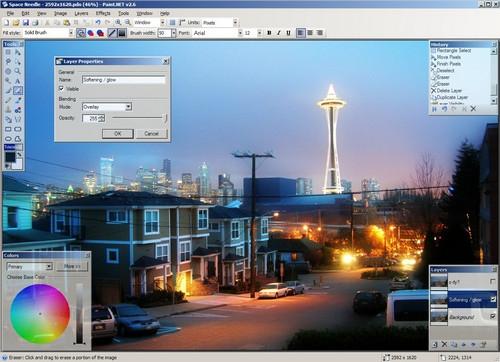 Paint.NET (โปรแกรม Paint.NET ตกแต่งรูปภาพ ลูกเล่นเพียบ) :
