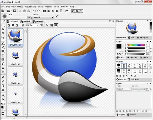 โปรแกรมสร้าง Icon ไอคอน สร้าง Favicon