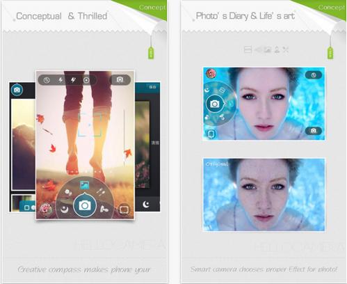 App แต่งรูป Camera360 Concept