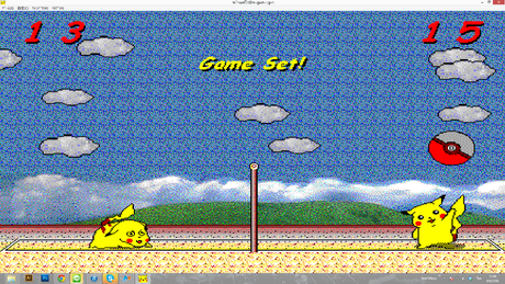 Pokemon VolleyBall (เกมส์โปเกมอน วอลเลย์บอล สุดคลาสสิค)