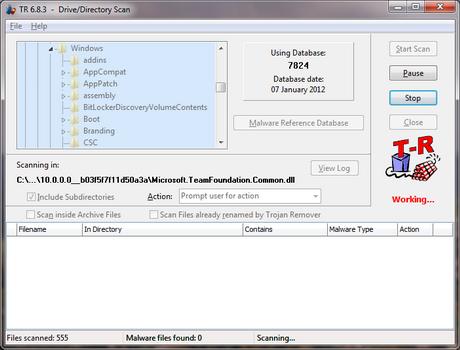 โปรแกรมฆ่าไวรัส Trojan Remover