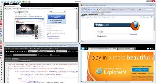โปรแกรมเปิดหลายจอ โปรแกรมแบ่งหน้าจอ SlickScreen
