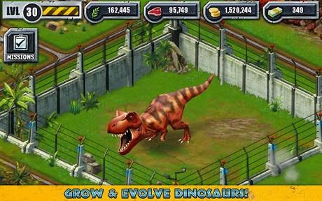 เกมส์สร้างสวนสัตว์ Jurassic Park