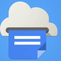 Cloud Print (แอป Google Cloud Print สั่ง พิมพ์ออนไลน์)