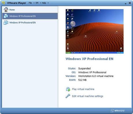 ดาวน์โหลด VMware Player โปรแกรมจำลอง Windows