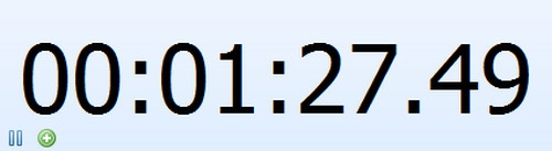 นาฬิกาจับเวลา Free Stopwatch