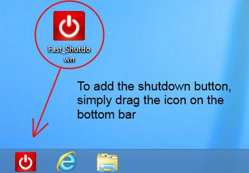 โปรแกรมปิดเครื่องคอมพิวเตอร์ Fast Shutdown