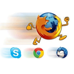 SpeedyFox (เพิ่มความเร็ว เร่งความเร็ว Firefox Chrome Skype) :