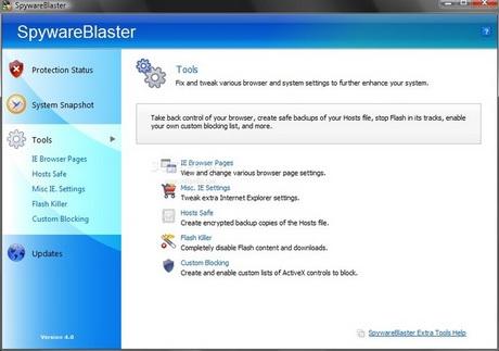 ดาวน์โหลด Spyware Blaster