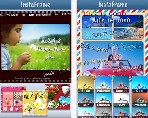 App ทํารูปอาร์ตๆ Instaframe
