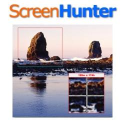 ScreenHunter Free (โปรแกรม ScreenHunter จับภาพหน้าจอ แต่งรูป) :