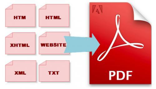 โปรแกรมแปลงไฟล์ HTML เป็น PDF