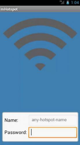 แอปแชร์เน็ต mHotspot (Free Hotspot app)