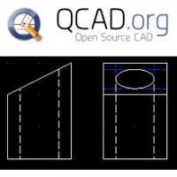 QCad (โปรแกรมออกแบบ CAD แบบ 2 มิติ ฟรี)