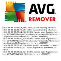 AVG Remover (โปรแกรมลบ วิธีลบ AVG Toolbar)