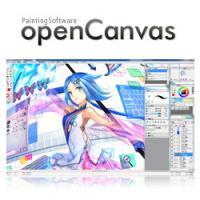 openCanvas (โปรแกรมวาดการ์ตูน วาดการ์ตูนญี่ปุ่น)