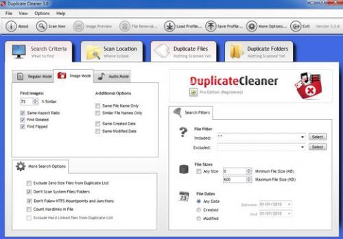 โปรแกรมลบไฟล์ซ้ำ Duplicate Cleaner