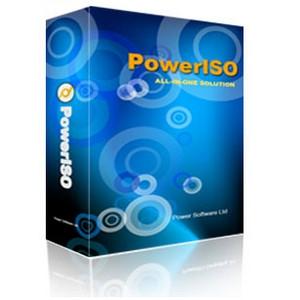 PowerISO (โปรแกรม PowerISO เปิดไฟล์ ISO ไฟล์ BIN) :