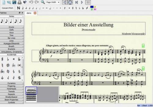 โปรแกรมสร้างโน๊ตเพลง MuseScore