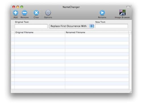 โปรแกรมเปลี่ยนชื่อไฟล์ Mac