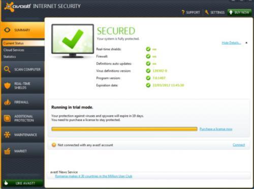 ดาวน์โหลด Avast Internet Security