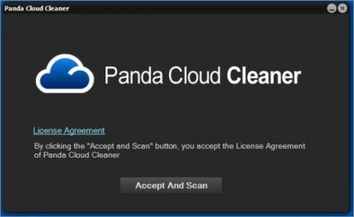 โปรแกรมลบมัลแวร์ Panda Cloud Cleaner