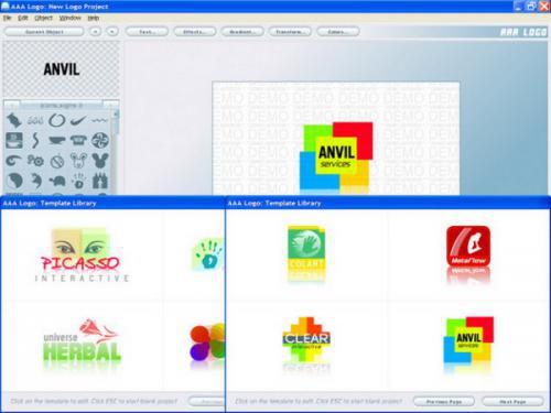 โปรแกรมทำโลโก้ AAA Logo Software