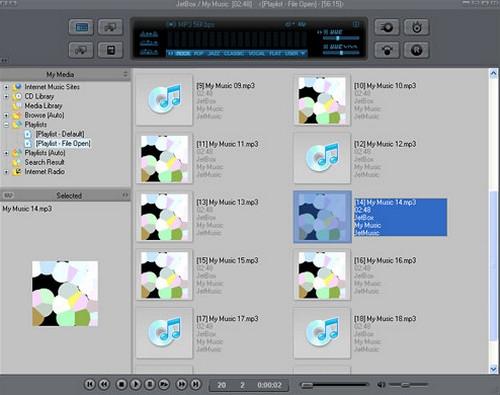 ดาวน์โหลดโปรแกรม JetAudio