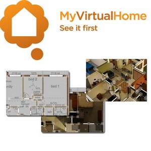 MyVirtualHome (โปรแกรมดีไซน์บ้านบน PC) :