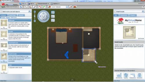โปรแกรมออกแบบบ้าน MyVirtualHome