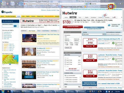 โปรแกรมเว็บบราวเซอร์ Avant Browser