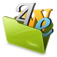 Free Font Renamer (โปรแกรมเปลี่ยนชื่อ Font) :