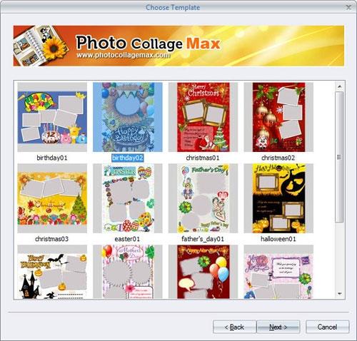 โปรแกรมแต่งรูป Photo Collage Max